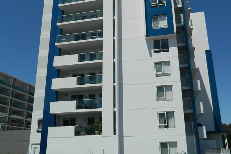 Oracle Apartments, Belconnen ACT Side View