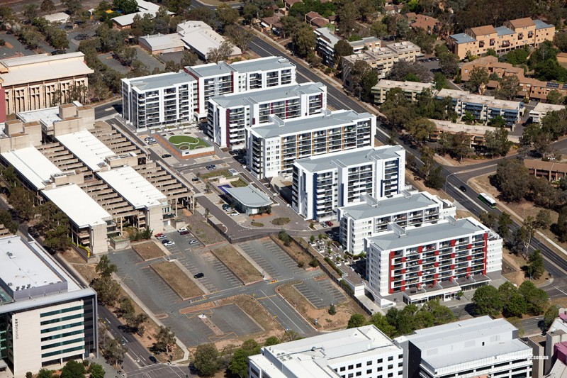 Oracle Apartments, Belconnen ACT - Aerial 2nd View