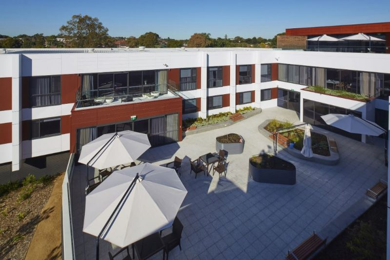 Bupa Aged Care Clemton Park by HD Projects