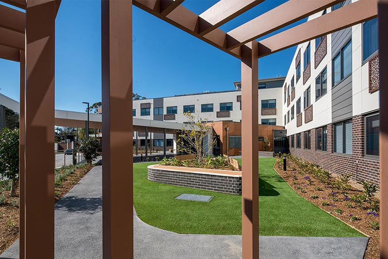 HD Projects Taylor Bupa Aged Care St Ives