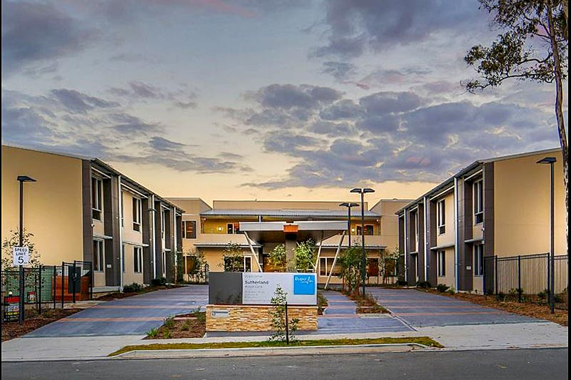 HD Projects Taylor BUPA Aged Care Princes Hwy Sutherland